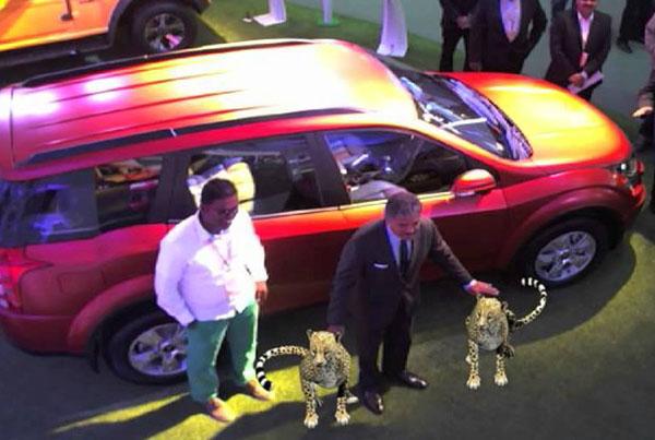 Auto Expo Mahindra XUV 500 Cheetah AR