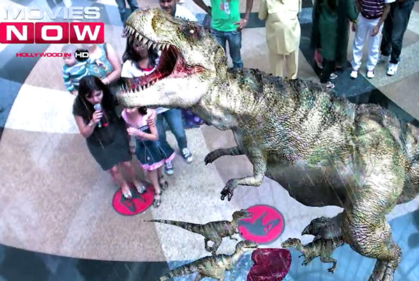 Movies Now – Spectacular Spielberg Augmented Reality (AR)