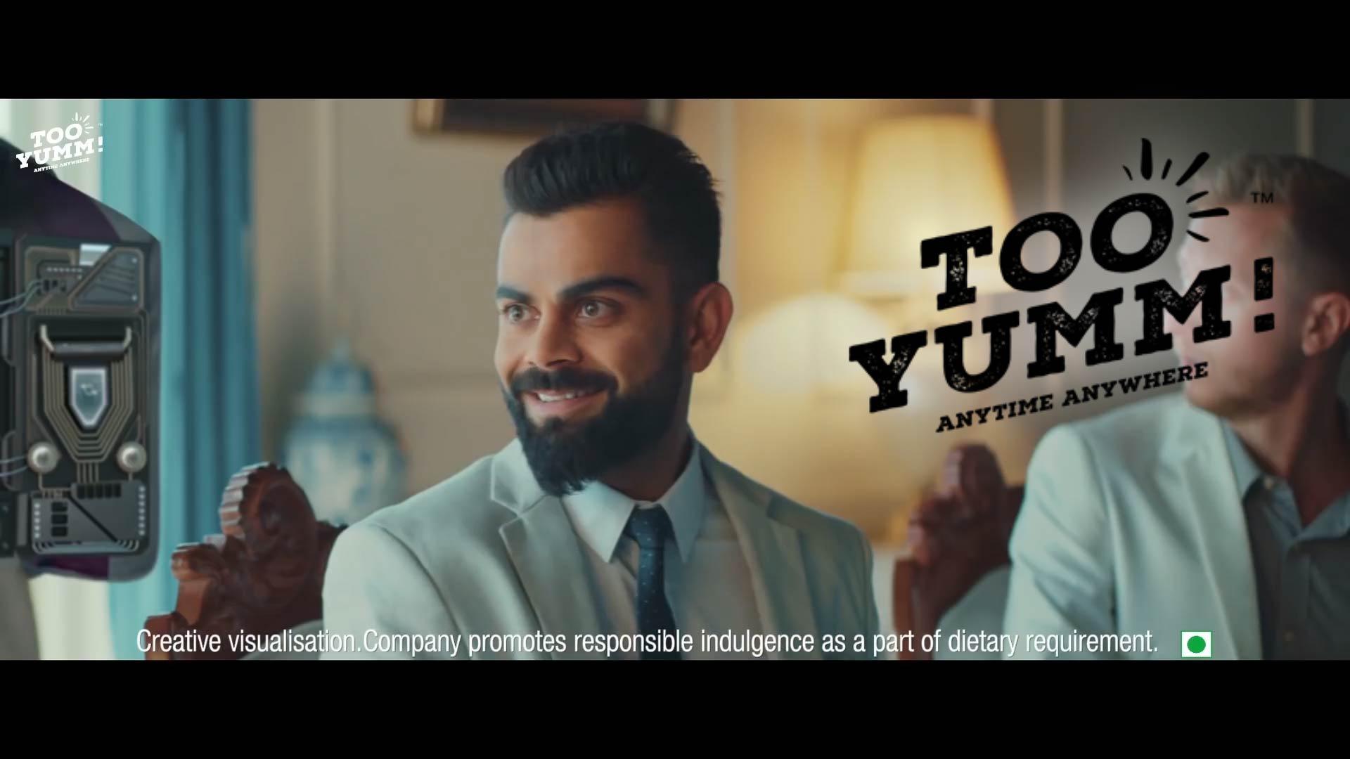 Too Yumm! Chilli Chataka Veggie Stix Ad